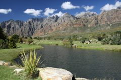 река горы scenary Стоковая Фотография
