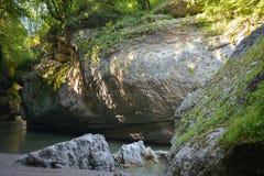 Река гор стоковые изображения