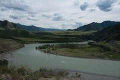 Река гор. Стоковое фото RF