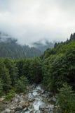 Река гор стоковое изображение