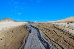 Река грязи Стоковая Фотография