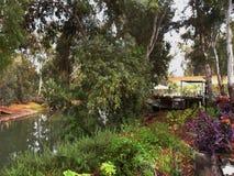 Река Джордан Израиля Стоковое Изображение
