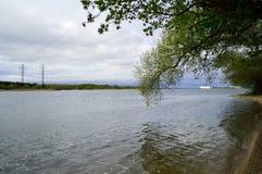 Река Днепр Стоковое фото RF