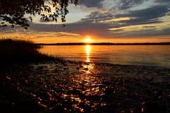 Река Днепр Стоковое Изображение
