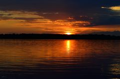Река Днепр Стоковые Фото