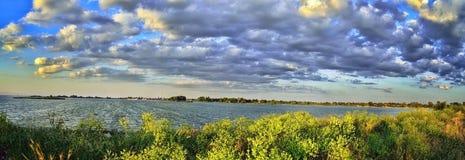 Река Днепр Стоковая Фотография RF