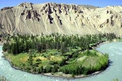 река загиба Стоковое Изображение RF