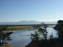 Река Замбези Chirindu Зимбабве Стоковая Фотография RF