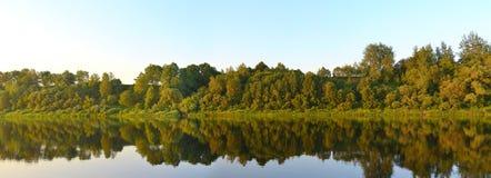 Река западное Dvina (Daugava) Стоковые Фото