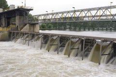 река запруды Стоковые Изображения