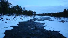 Река зимы видеоматериал