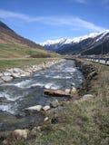 Река зимы стоковые фотографии rf