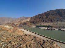 Река Инд в северном Пакистане Стоковое фото RF