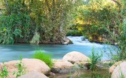 Река Иордан Стоковые Изображения RF