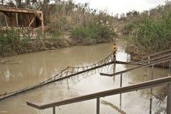 Река Иордан стоковое изображение