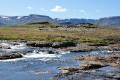 река Исландии Стоковое фото RF