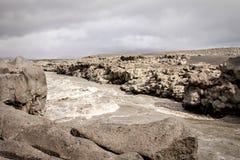 Река Исландии Стоковое Изображение RF
