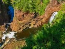 Река и водопад Стоковая Фотография RF