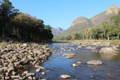 Река и гора Blyde Стоковые Изображения