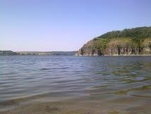 Река и горы Стоковое Фото