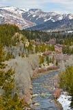 Река и глушь Gros Ventre Стоковая Фотография RF