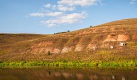 Река и свободный полет Стоковая Фотография RF
