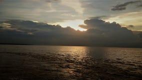 Река & идти вниз с солнца Стоковое Изображение RF