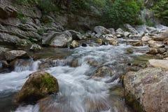 Река и утес Стоковое Фото