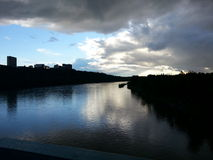 Река Канады Стоковая Фотография RF