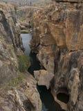река каньона Африки южное Стоковое Фото