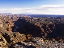 река каньона Стоковые Фото
