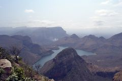 река каньона blyde Африки южное Стоковое фото RF