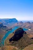река каньона blyde Стоковая Фотография