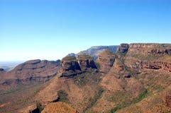 река каньона blyde Стоковые Изображения