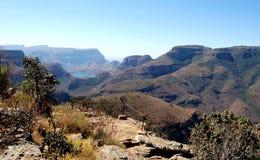 река каньона blyde Стоковое Изображение RF