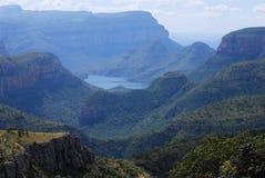 река каньона blyde Стоковые Изображения RF