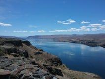 Река Колумбия Стоковые Изображения RF