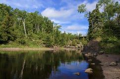 Река крещения, Minnesota-2 Стоковое Фото