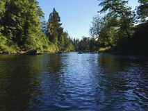 Река Левиса Стоковые Фото