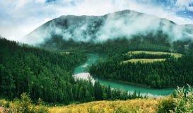 река луны Стоковая Фотография