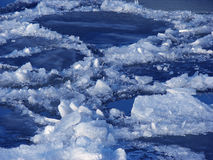 река льда Стоковые Фотографии RF