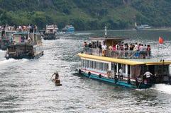 река людей Стоковое Изображение