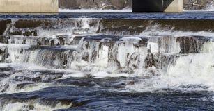 Река Миссисипи, Almonte, Онтарио, Канада Стоковое Изображение