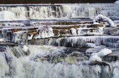 Река Миссисипи, Almonte, Онтарио, Канада Стоковые Изображения
