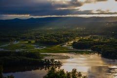 река Миссиссипи Стоковое Изображение RF