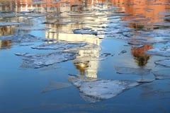 река Москва Стоковые Фото