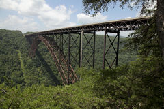 река моста новое Стоковое фото RF