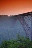 река моста новое Стоковая Фотография