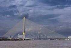 река моста предпосылки Стоковые Изображения RF