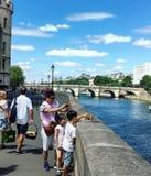Река моста Стоковые Фото